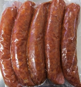Red Hot Smoked Sausage 2 lb pack